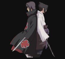 naruto shippuden sasuke itachi uchiha anime manga shirt by ToDum2Lov3