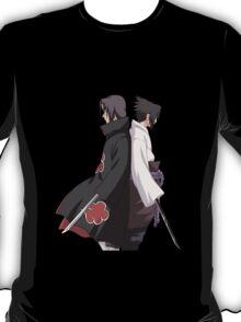 naruto shippuden sasuke itachi uchiha anime manga shirt T-Shirt