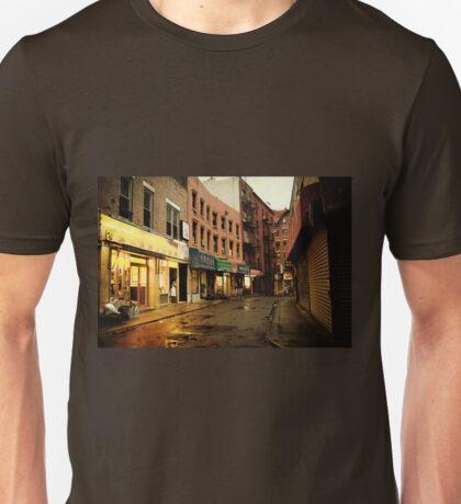 Rainy Evening - New York City - Chinatown Unisex T-Shirt