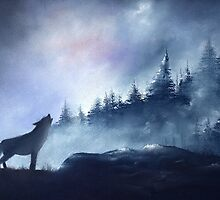 Wolves 1. by jan farthing