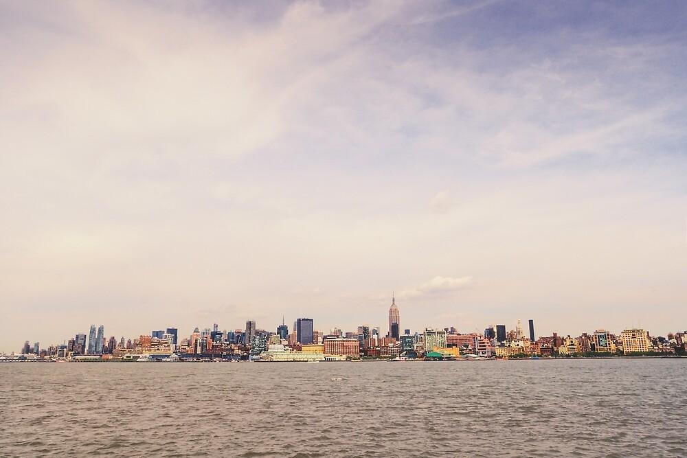 Manhattan Skyline - Cityscape by Vivienne Gucwa