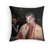 Where are you running? Throw Pillow