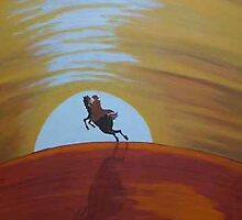 ....AND HE RODE OFF INTO THE SUNSET by RoseLangford