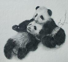 Pandas. by jan farthing