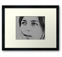 ...the smell of fresh grass, the taste of chocolate cake, the feeling of love, the smell of roses... all of it... some day Framed Print