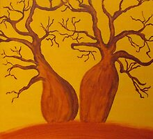 BOAB TREES by RoseLangford