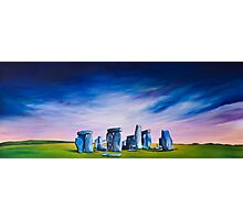 Stone Henge. Standing stones. Photographic Print