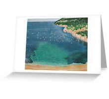 VILLEFRANCHE-SU-MER, FRENCH RIVIERA Greeting Card