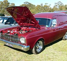 1967 Ford XR Falcon Panel Van by elsha