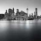 NYC Skyline - Skyscrapers of Lower Manhattan by Vivienne Gucwa