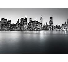 NYC Skyline - Skyscrapers of Lower Manhattan Photographic Print