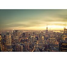 New York City - Skyline Cityscape Photographic Print