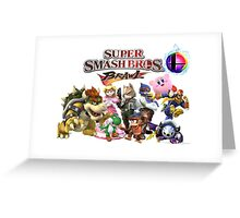 Super Smash Bros Brawl Greeting Card
