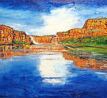 Kimberley Gorge  by gillsart