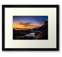 Hidden away Framed Print