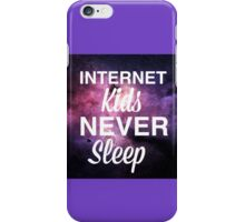 Connor Franta qoute {internet kids} iPhone Case/Skin