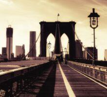 Brooklyn Bridge - New York City Sticker
