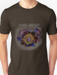Planet Memphis - Contemporary Fine Art Design T-Shirt