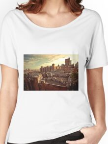 Rooftop Graffiti - Chinatown - New York City Women's Relaxed Fit T-Shirt