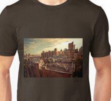 Rooftop Graffiti - Chinatown - New York City Unisex T-Shirt