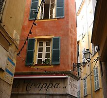 Vieux Nice, France by Alison Malcolm Flower