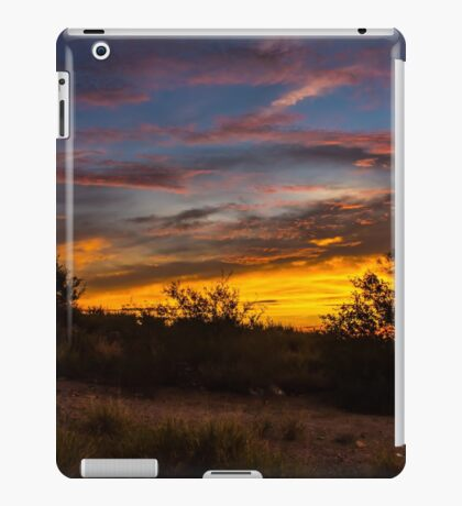Colorful hills iPad Case/Skin