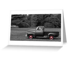 1949 Chevy 3100 Pickup Truck Greeting Card