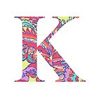 The Letter K - Lily Style by MarcoD