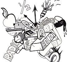 Drawn Radio by Andrew Robinson
