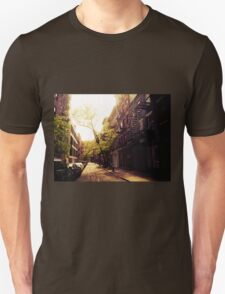 Sunlit Street - Greenwich Village - New York City T-Shirt