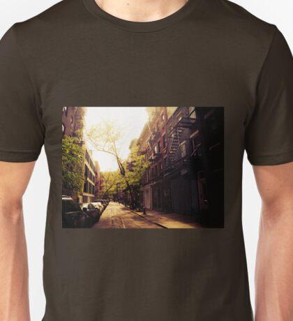Sunlit Street - Greenwich Village - New York City Unisex T-Shirt