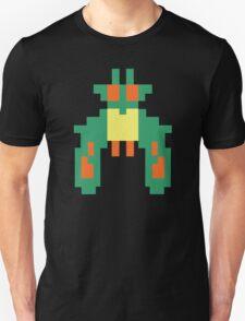 Space Bug Classic 80s Arcade  T-Shirt