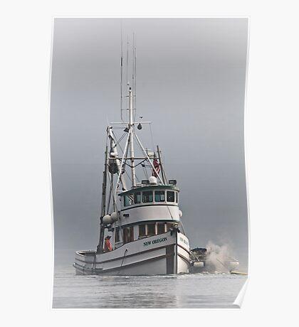 New Oregon Fishing V Poster
