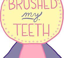 Spoonie Achievement:  Brushed my Teeth by spooniestickers