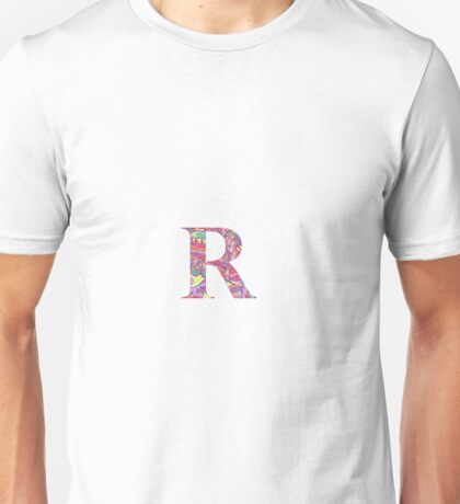 The Letter R - Lily Style Unisex T-Shirt