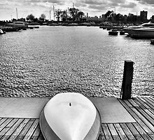 Rowboat (Montrose Harbor) by James Watkins
