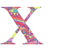 The Letter X - Lily Style by MarcoD
