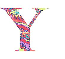 The Letter Y - Lily Style by MarcoD