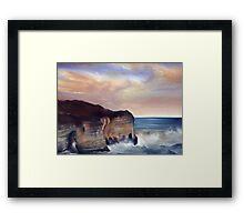 Flamborough. Bridlington Framed Print