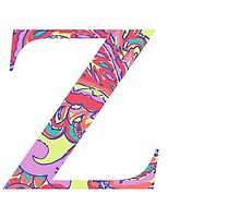 The Letter Z - Lily Style by MarcoD