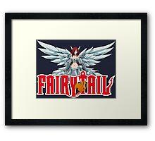 fairy tail erza scarlet titania anime manga shirt Framed Print