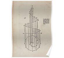Measurement With Compass Line Leveling Albrecht Dürer or Durer 1525 0018 Spiral Poster