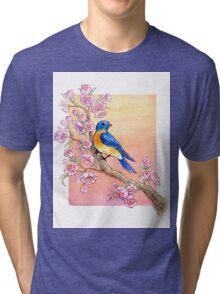 Sweet Little Bluebird Tri-blend T-Shirt