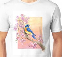 Sweet Little Bluebird Unisex T-Shirt