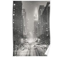 A Winter's Tale - New York City Poster