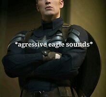Captain America eagle screech by phanassemble