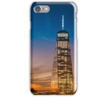 New York City Sunset and Skyline iPhone Case/Skin