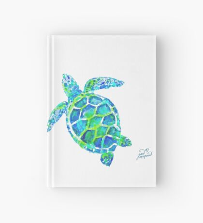 Sea Turtle no splots by Jan Marvin Hardcover Journal