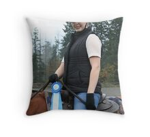 Firs Blue of the year Throw Pillow
