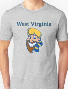 West Virginia Happy Mountaineer Unisex T-Shirt
